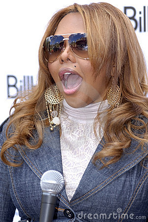Lil Kim appearing. Editorial Stock Photo