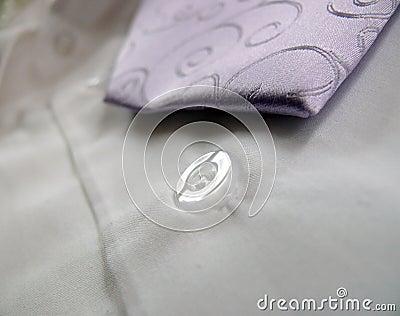 Lila ornaments tie
