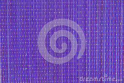 Lilac bamboo serviette as the background