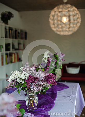 Lilac decoration