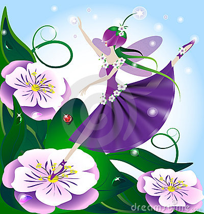 Free Lilac Fairy Royalty Free Stock Images - 18342379