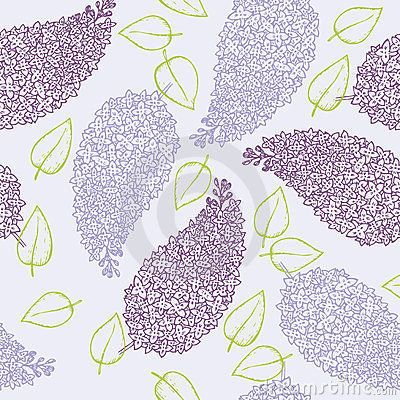 Lilac flower brunch