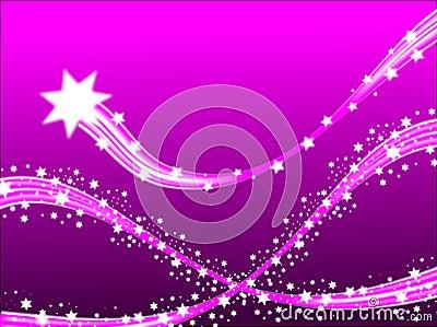 Lilac Shooting Stars