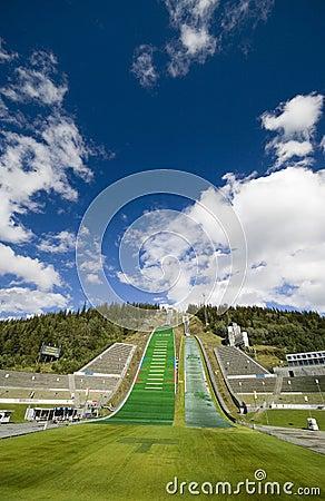 Lillehammer ski jumping