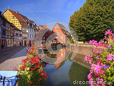 Lillte Venise in Colmar