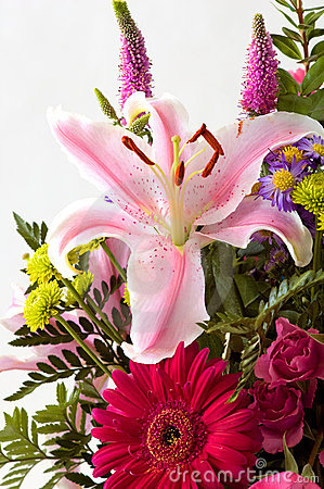 Lilly flower arrangement