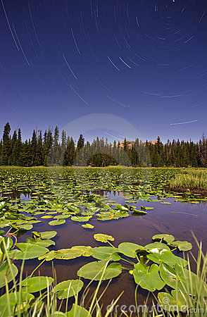 Lilly Lake Wasatch Star Trails