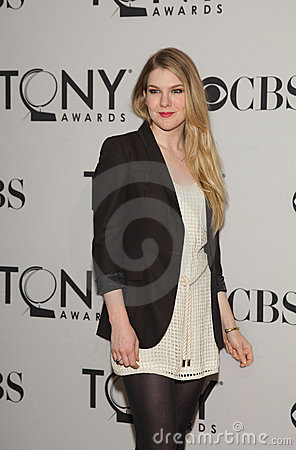 Lily Rabe, Tony Nominee Editorial Stock Photo