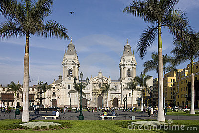 Lima - Peru - South America Editorial Stock Image