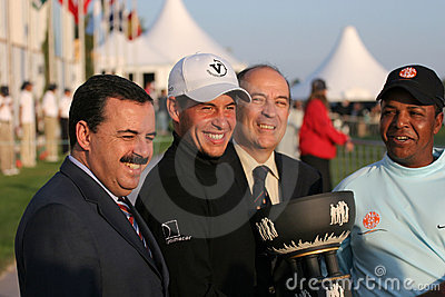 Lima, World Golf Cup, Vilamoura, 2005 Editorial Image