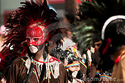 Limassol Carnival Parade, March 6, 2011 Editorial Photo