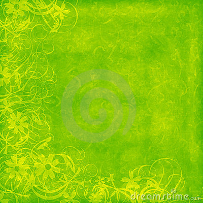 Lime distressed background