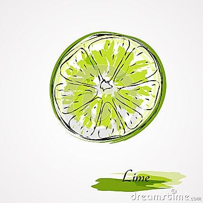 Free Lime Fruit Royalty Free Stock Photos - 41482168