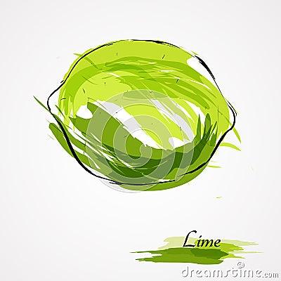 Free Lime Fruit Royalty Free Stock Photos - 44196538