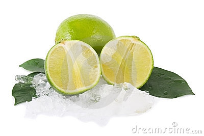 Lime and ice