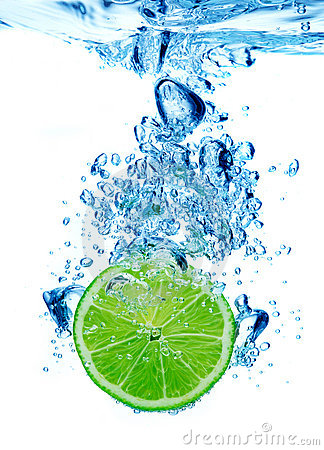 Free Lime In Water Stock Images - 15689044