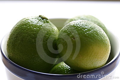 Lime in the plate