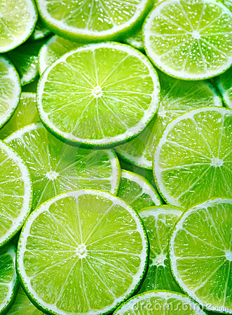 Free Lime Slices Royalty Free Stock Photography - 16912137