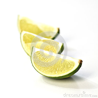 Lime slices