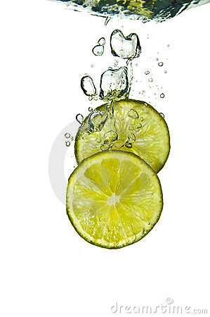 Free Lime Splash Stock Images - 2911394