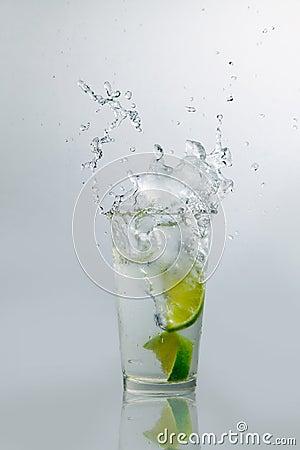 Lime Water Splash