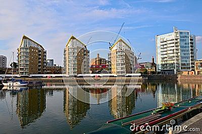 Limehouse Basin, Tower Hamlets, London, England