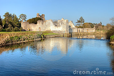 Limerick do Co. do castelo de Adare - Ireland.