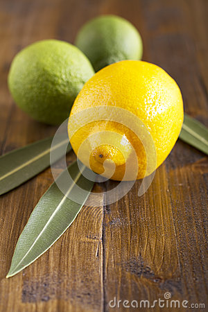 Limes and lemon