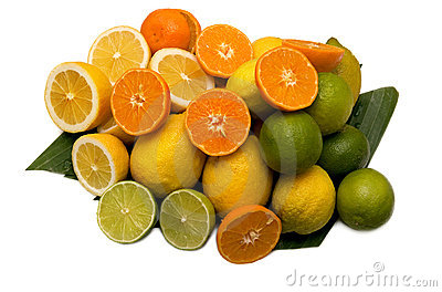 Limes oranges and lemons