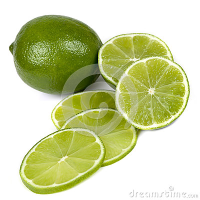 Limes  on White
