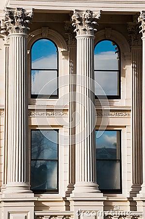 Limestone building
