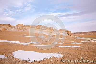 The limestone formation rocks on Sunrise