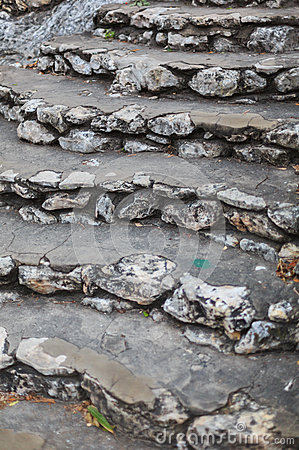 Free Limestone Steps Royalty Free Stock Images - 84300149