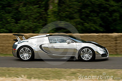 Limited edition bugatti veyron pur sang Editorial Stock Image