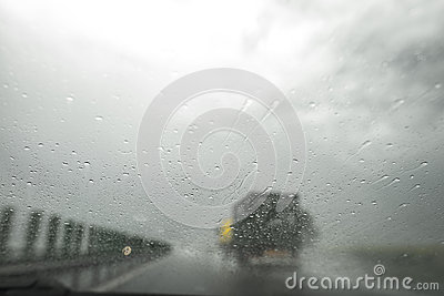 Limited visibility