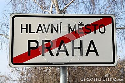 Limites tchèques de capitale