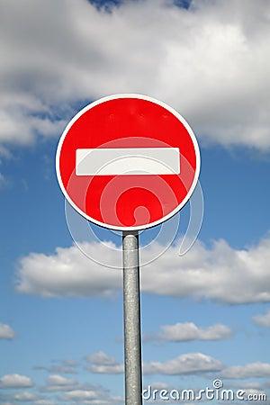 Limiting traffic sign