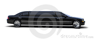 Limo on white