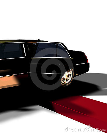 Free Limo With Red Carpet 10 Royalty Free Stock Photo - 4516235