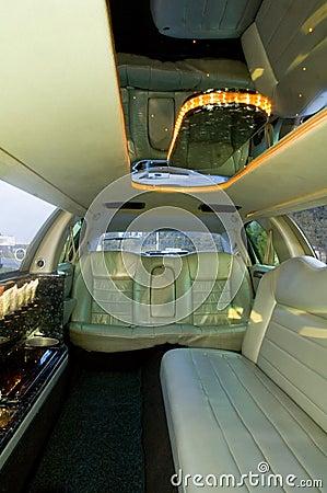 Limousine Interior Royalty Free Stock Photo Image 1632435
