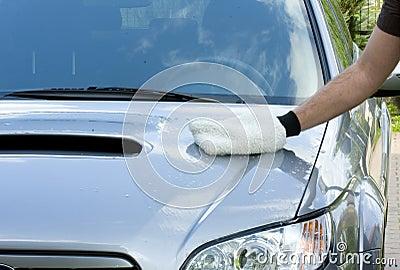 Limpando o carro
