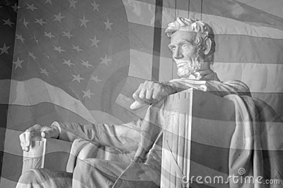 флаг lincoln мемориальные США