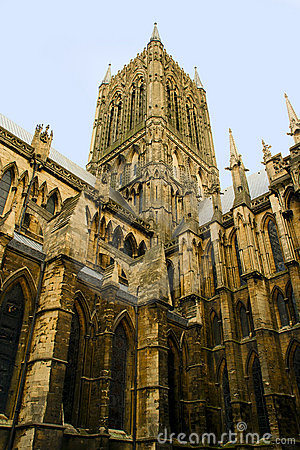 Free Lincoln Cathedral Architecture Royalty Free Stock Photography - 18937887