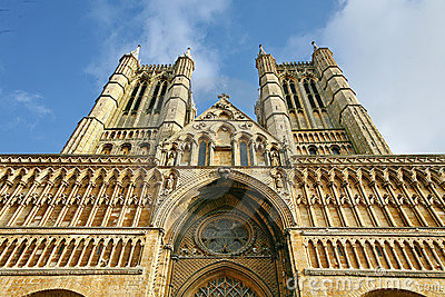 Lincoln Cathedral front elevation