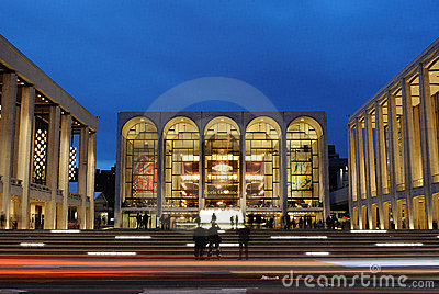 Lincoln Center Editorial Photography