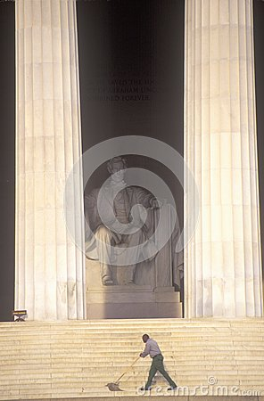 Lincoln Memorial Editorial Stock Photo