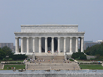 Lincoln Memorial Exterior View