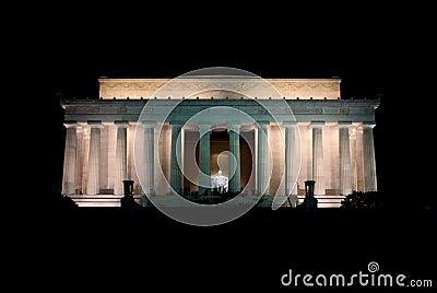 Lincoln Memorial - Night