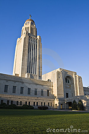 Free Lincoln, Nebraska - State Capitol Royalty Free Stock Photos - 6359228