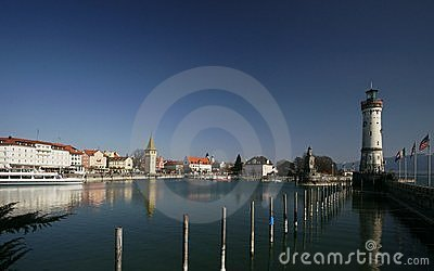 Lindau Editorial Stock Image